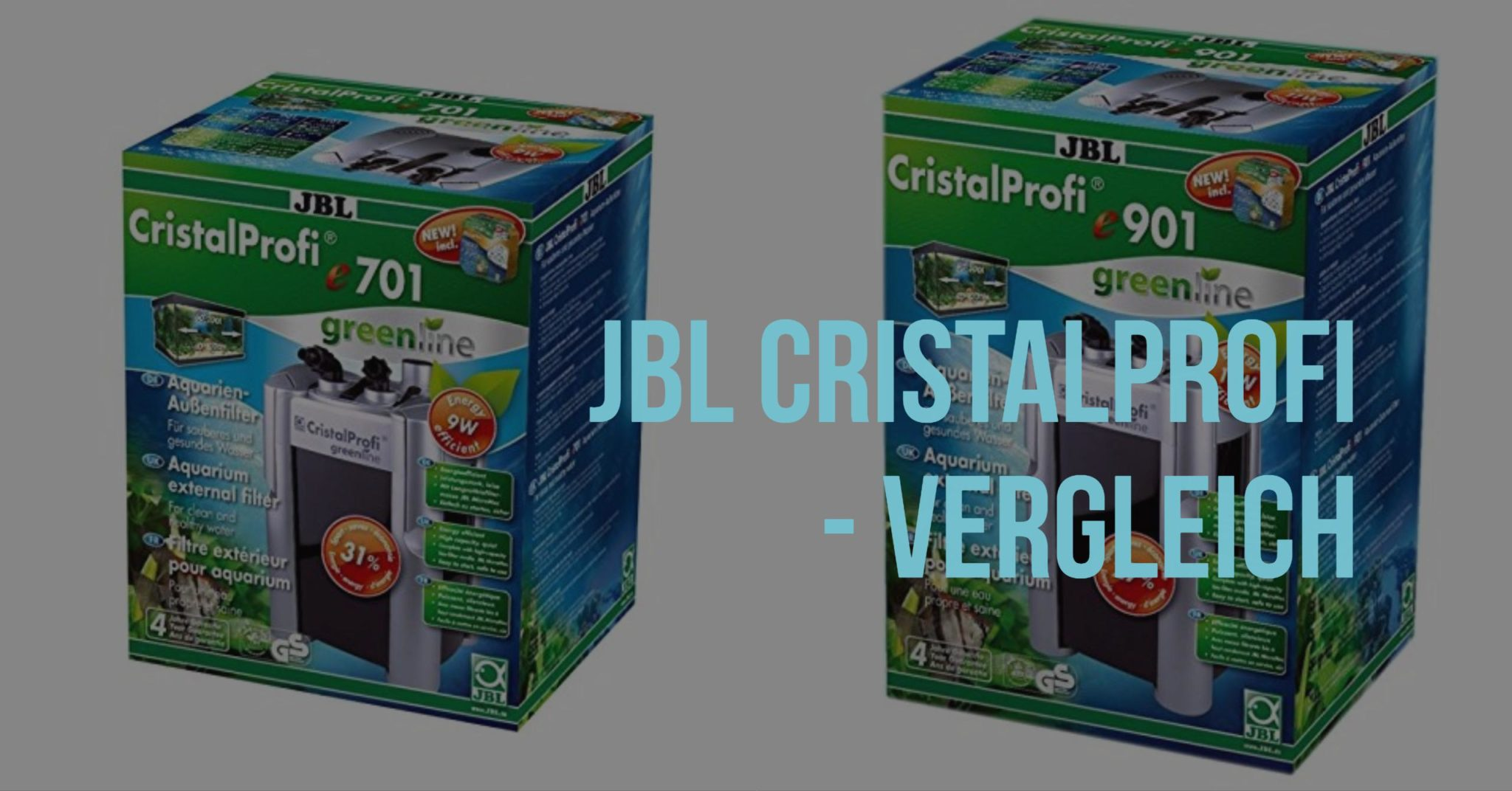 JBL Cristalprofi Aquarium Filter